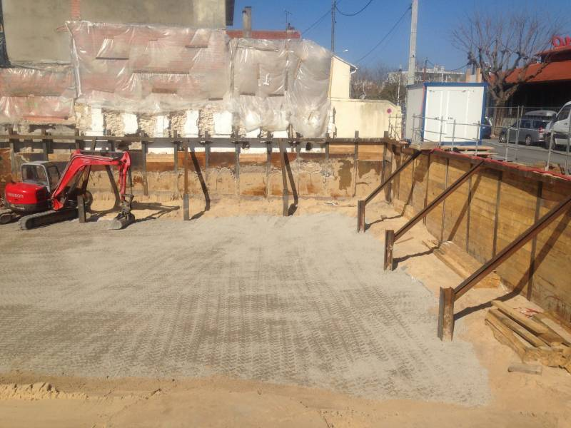 Plateforme en calcaire bassin d 39 arcachon entreprise de - Terrassement bassin d arcachon tourcoing ...